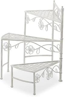 ORION Sammenleggbar Blomsterhylle Hvit