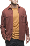 Houdini M's Wolf Shirt mirage red 2016 S Långärmad