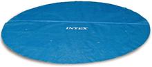 Intex Soldrevet bassengtrekk rund 457 cm 29023