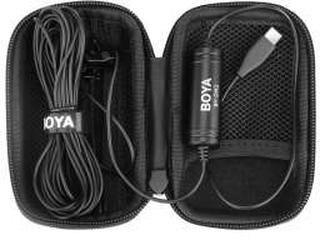 BOYA Clip on mikrofon til USB-C