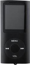 Slim MP3-afspiller med FM-radio-support - Sort