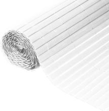 Nature Dubbelsidigt insynsskydd PVC 1x3m vit