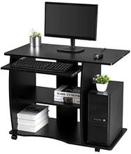 Computerdisk; 90 x 50 x 75 cm, sort
