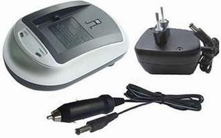 Batteri oplader til Panasonic VW-VBG070, VW-VBG130, VW-VBG260 og VW-VBG6
