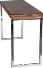 Computerbord / skrivebord i massivt træ, 120 x 45 x 76 cm