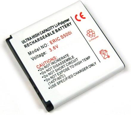 Batteri till bl.a. Sony Ericsson K850, S500, T650, W580, C905 (BST-38)