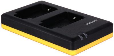 Dubbelladdare för 2 batterier Sony NP-BX1