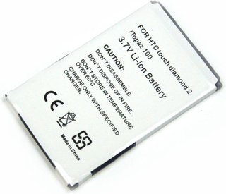Batteri till bl.a. HTC Touch Diamond 2, HTC Hero (BA S380)