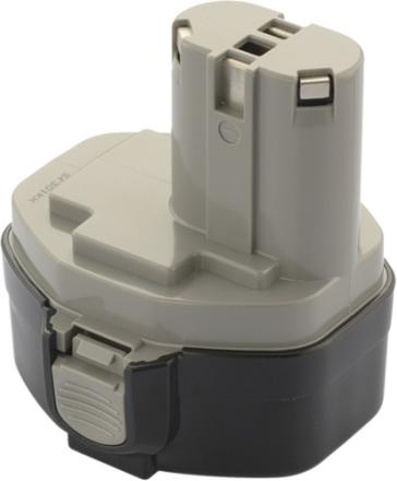 Borrmaskin batteri kompatibelt med bl.a. Makita 1434/1435