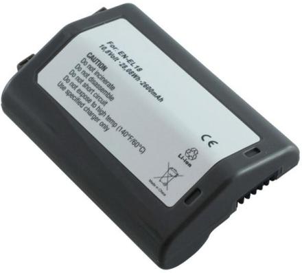 Kamerabatteri EN-EL18 till Nikon kamera