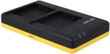 Dubbelladdare för 2 batterier Panasonic DMW-BLG10