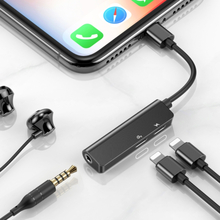 iPhone Adapter Laddning / headset & 3,5mm