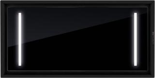 Premium line tak integrerad köksfläkt Swedluxury ALFA svart glas