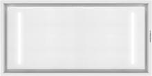 Premium line tak integrerad köksfläkt Swedluxury ALFA vit glas
