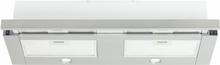 Utdragbar köksfläkt Nogran rostfritt stål 90 cm