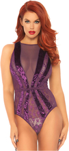 Lace Teddy Purple (Storlek: Medium)