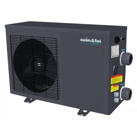 Swim & Fun Heat Pump 3,5 Kw Metal Cabinet 10m3