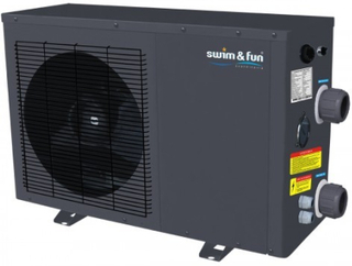 Swim & Fun HeatPump 5,0 kW Metal cabinet 10 - 20 m3