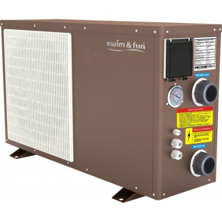 Swim & Fun Heat Pump Inverter PRO 5-2,5 kW, WI-FI