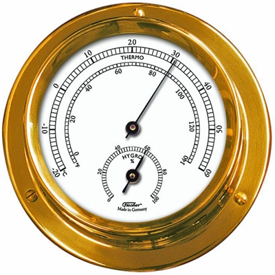 1506TH-45 Nautic Termo- og hygrometer - 11 cm