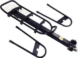 Point Pakethållare Pakethållare för sadelstolpe 10 kg svart 2019 Pakethållare för sadelstolpar