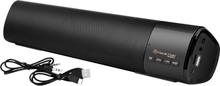 Music Man BT-X54 Soundbar, Mobil højtaler Sort Bluetooth®, USB