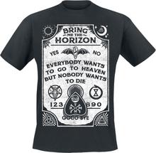 Bring Me The Horizon - Ouiji Board -T-skjorte - svart