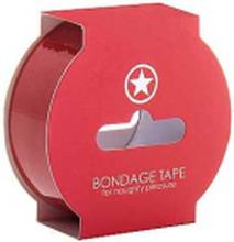Non Sticky Bondage Tape - 17,5 Meter - Röd