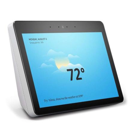 Amazon Echo Show Gen 2 Smarte hjem-kontroller Gråhvit