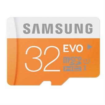 32GB Samsung MicroSDHC EVO Class 10