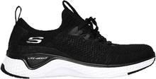 Skechers Womens Solar Fuse Black White