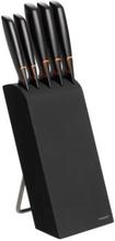 Fiskars: Knivblock Edge med 5 knivar