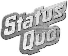 Status Quo: Pin Badge/Logo (Retail Pack)
