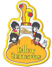 The Beatles: Standard Patch/Yellow Submarine All Aboard (Loose)