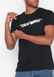 Cheap Monday Standard Tee Cheap Review T-shirts & linnen Black