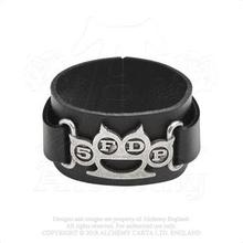 Five Finger Death Punch: Leather Wrist Strap/Knuckle Duster