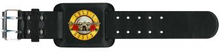 "Guns N""' Roses: Leather Wrist Strap/Bullet Logo"