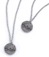"""Guns N""""' Roses: Necklace & Bracelet Set/Disc Logo"""