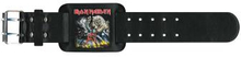 Iron Maiden: Leather Wrist Strap/Number of the Beast