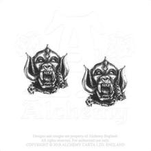 Motörhead: Stud Earrings/War Pig