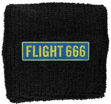 Iron Maiden: Sweatband/Flight 666 (Retail Pack)