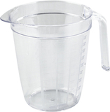 Litermått Glasklar Nordiska Plast