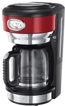 Russell Hobbs: Kaffebryggare Retro Red