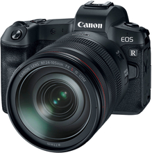 Canon EOS R Spiegellose Digitalkamera mit RF 24-105mm Objektiv und EF-EOS R Mount Adaptor (International Ver.)