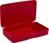 Box 108 1-fack Röd Nordiska Plast