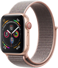 Watch Series 4 (GPS + Cellular) 40mm Pink Gold Sport Loop Pink