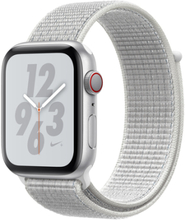 Watch Series 4 Nike+ (GPS + Cellular) 44mm Silver Aluminum Nike Sport Loop Summit White