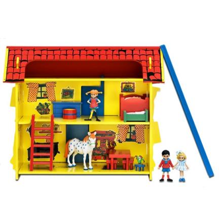 Pippi Långstrump Pippi, Villa villekulla med lekplatta