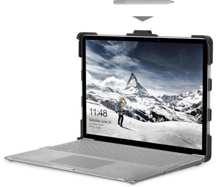 UAG ICE -kotelo Surface Laptopille