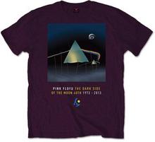 Pink Floyd: Unisex Tee/Dark Side of The Moon 40th Dail Sleep (Small)
